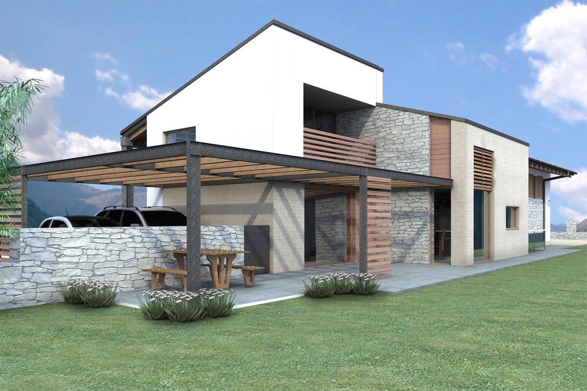 Villa db movio poletto architetti for 12x12 piani di coperta autoportanti